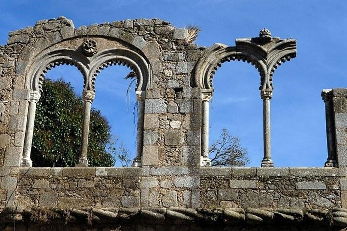 Trecho em ruínas, Palácio D. Manuel<br />Foto Junancy Wanderley