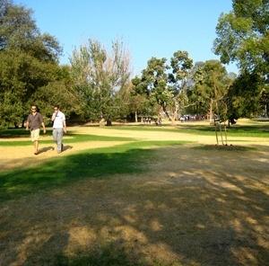 Jardins e parques com excepcional manutenção