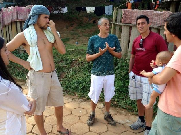 Reunião do grupo de pesquisa e extensão, com o prof. Leonardo Carneiro<br />Foto Fabio Lima