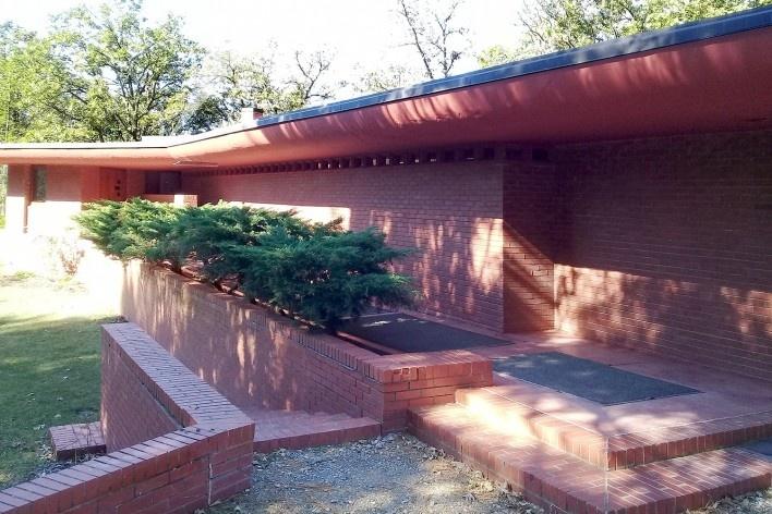 Cedar Rock State Park, residência de Lowell e Agnes Walter. Arquiteto Frank Lloyd Wright<br />Foto André Luiz Joanilho