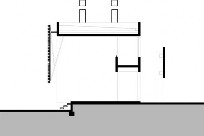 Corte transversal<br />Desenho do autor