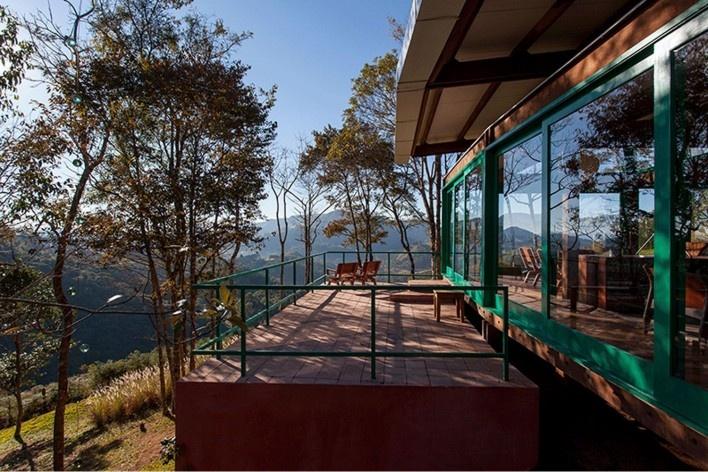 Casa em Gonçalves, Gonçalves MG Brasil, 2012-2013. Arquiteto André Vainer / André Vainer Arquitetos<br />Foto Tuca Reines