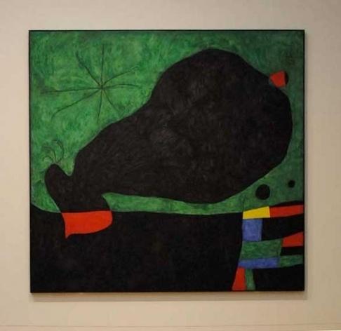 Foto 02- Quadro de Miró no Tate modern
