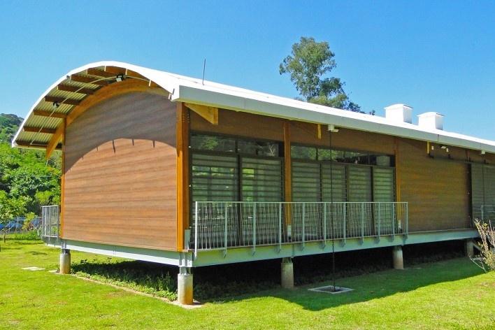 Sede Administrativa do Parque Natural Fazenda do Carmo, suspensão, São Paulo, Secretaria do Verde e Meio Ambiente – SVMA, 2018<br />Foto divulgação