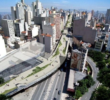 Vista aérea<br />Imagens dos autores do projeto