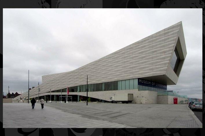 Museum of Liverpool inaugurado na zona portuária em julho de 2011. Projeto do escritório holandês 3XN (Nielsen, Nielsen & Nielsen)<br />Foto Victor Hugo Mori