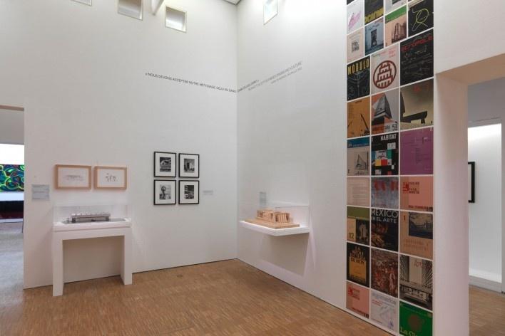 """Exposição Modernités Plurielles 1905-1970, Centre Pompidou, MNAM-CCI, Paris, de outubro de 2013 a fevereiro de 2015. 5° andar, sala 34, """"Architectures modernes d'Amérique Latine""""<br />Foto Philippe Migeat ©  [Centre Pompidou © MNAM-CCI]"""