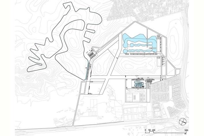 Cluster Deodoro - X Parque<br />Rio 2016/ BCMF Arquitetos