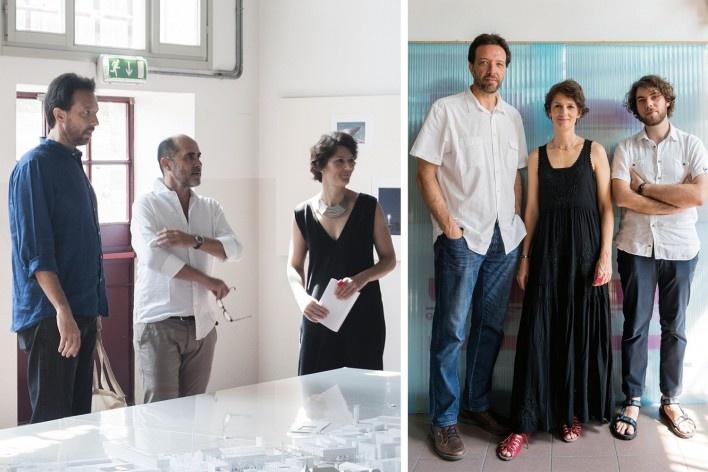 Workshop Giudecca Reaction / Venezia Città Sostenibile. Coordenação Cristiane Muniz e Fernando Viegas / Una MunizViegas; colaboração Manuel Minto<br />Foto divulgação  [Workshop Giudecca Reaction]