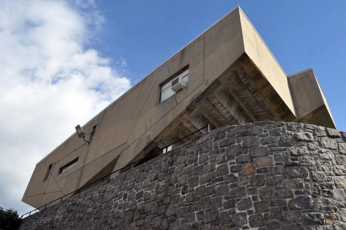 Begrish Hall, arquiteto Marcel Breuer<br />Foto Klaus Chaves Alberto, 2015