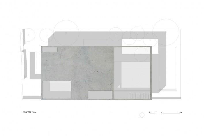 Nível Cobertura Casa no Juso. Projeto ARX Portugal + Stefano Riva, 2011<br />divulgação