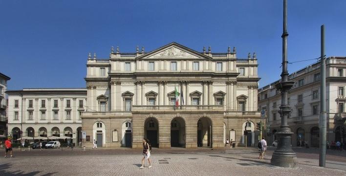 Scala, Milão, arquiteto Giuseppe Piermarini<br />Foto Victor Hugo Mori
