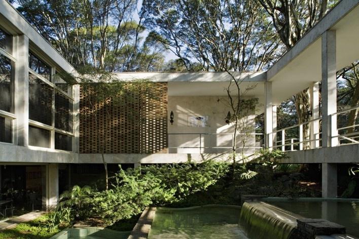 Arquiteturismo visita de estudo resid ncia maria lu sa e oscar americano vitruvius - Casa para ancianos ...