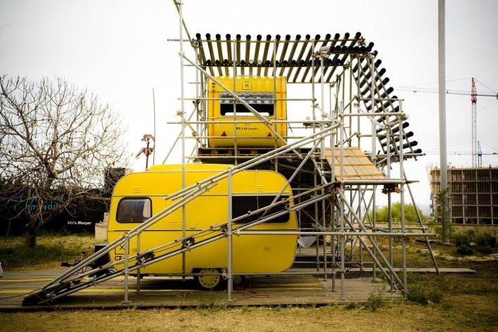 We Can Xalant, construcción, Mataró, Barcelona, 2009<br />Foto divulgación