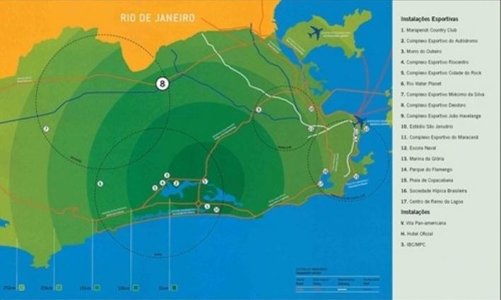 Mapa de localização<br />Imagem dos autores do projeto