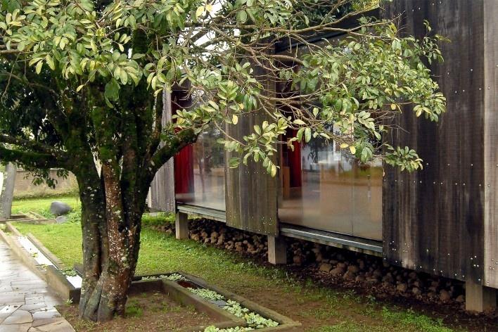 Museu do Pão, Ilópolis. Escritório Brasil Arquitetura<br />Foto André Marques e Silvia Raquel Chiarelli