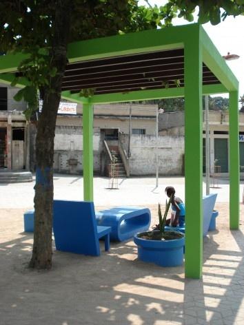 Vista Pérgola-Mesa<br />Imagem dos autores do projeto