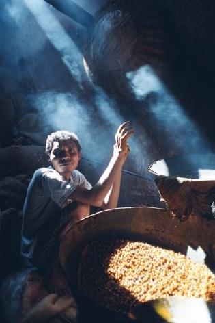 Torrador de grãos, Ahmedabad, Índia<br />Foto Fabricio Fernandes