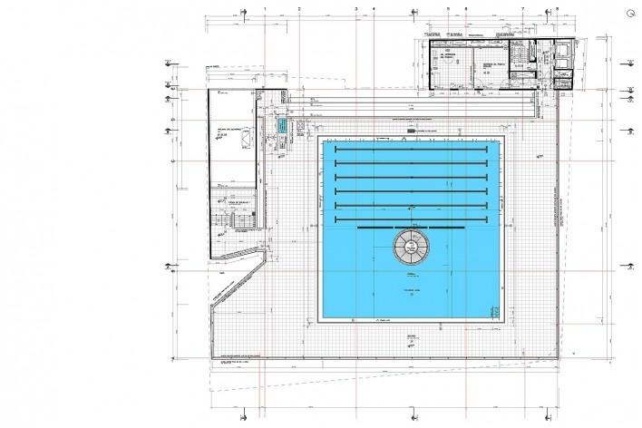 Sesc 24 de Maio, cobertura, piscina, praça do sol, Paulo Mendes da Rocha + MMBB Arquitetos, São Paulo<br />Imagem divulgação