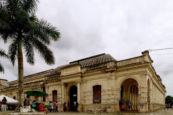 Mercado de São Braz, Belém, Brasil<br />Foto Celma Chaves