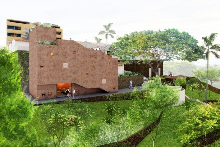 Casa de Òsùmàrè, Memorial, Salvador, 2017. Escritório Brasil Arquitetura<br />Imagem divulgação
