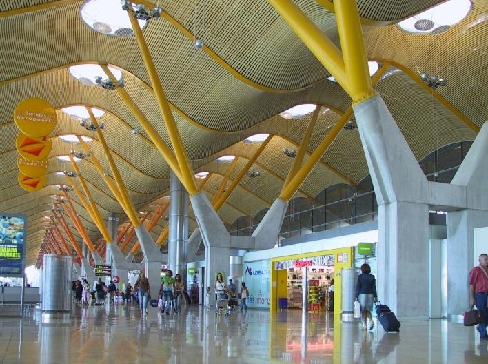 <br />Aeroporto de Barajas, Madri  [Foto Abilio Guerra]