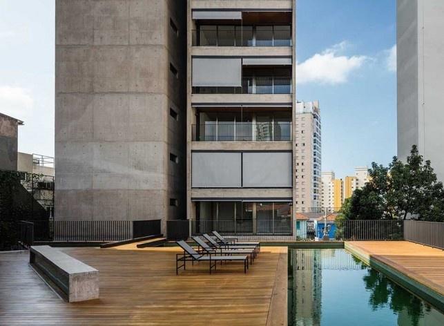Residencial Huma Klabin, Vila Mariana, São Paulo, 2016, escritório UNA Arquitetos<br />Foto Nelson Kon