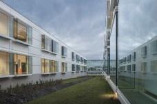 Escola Gaspar Frutuoso, Ribeira Grande, ilha de São Miguel, Açores, Portugal, arquiteto Carlos Almeida MarquesFoto Fernando Guerra