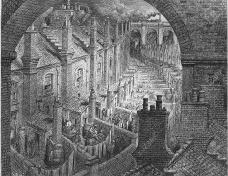 Londres e outras cidades europeias no século 19