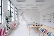 Exposição 250 Arquiteturas Americanas, curadoria de Fernando Lara e Coletivo Goma Oficina, 11a Bienal de Arquitetura de São Paulo, São Paulo 2017Foto Lauro Rocha