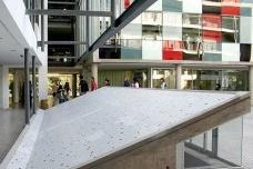 Faculdade de Arquitetura, Arte e Desenho da Universidade Diego Portales, Santiago do Chile. Arquiteto Ricardo AbuauadFoto divulgação  [website UDP]
