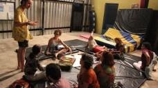Processo participativo para a definição dos caminhos projetuais de um habitat coletivo norteado pelos princípios de um cohousing em Pium RNFoto Jessica Bittencourt Bezerra, 2015