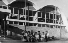 Wellinghton Pinto Alves e Oscar Niemeyer