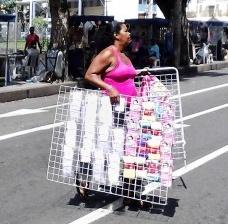 Trabalhadora de rua, Praça da Piedade, 2014Foto Laila Bouças