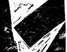 Gravura de Alberto Martins [Lívia e o cemitério africano]