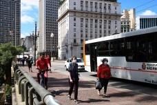 Redução da frota de ônibus na capital paulista