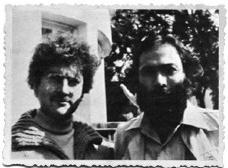 Léon Krier e Cristián BozaFoto divulgação  [Revista ARS, nº 1]
