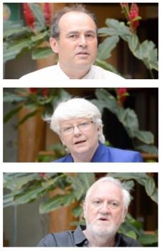 Entrevista com Sue Roaf, Stéphane Hanrot e Anthony Vidler durante o II Enanparq
