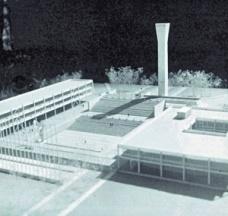 O plano da cidade Universitária de Concepción de Emilio Duhart