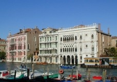 O Ca' d'Oro nas góticas águas de Veneza