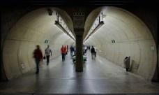 O metrô em Higienópolis