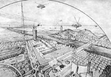 """""""A Vila"""" medrosa e a Broadacre esperançosa: um ensaio comparativo de simbologias territoriais no cinema e na arquitetura"""