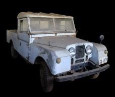 Land Rover do Ministério de Educação e Cultura, uso exclusivo em serviçoFoto Victor Hugo Mori