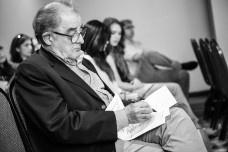Héctor Vigliecca em lançamento do livro O terceiro território, nos Estados UnidosFoto divulgação  [acervo escritório Vigliecca & Associados]