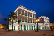 Arquiteto Ney Caldatto, Museu Pelé. Santos, 2014Foto Nelson Kon
