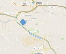 Mapa da Vila Leopoldina com as estradas e a localização da Ceagesp. Elaborado pelo autor a partir de informações do Google Maps, 2015, s.p.