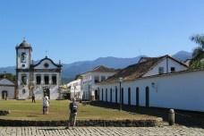 O bairro histórico de Paraty