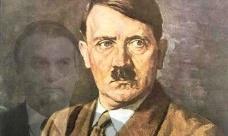 Hitler e seu simulacroFotomontagem AG  [HT Photo/Agência Brasil]
