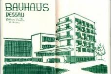 Bauhaus em Dessau, AlemanhaDesenho de Petterson Dantas