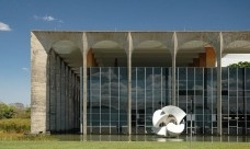 Palácio do Itamaraty, Brasília DF, arquiteto Oscar NiemeyerFoto Frederico de Holanda